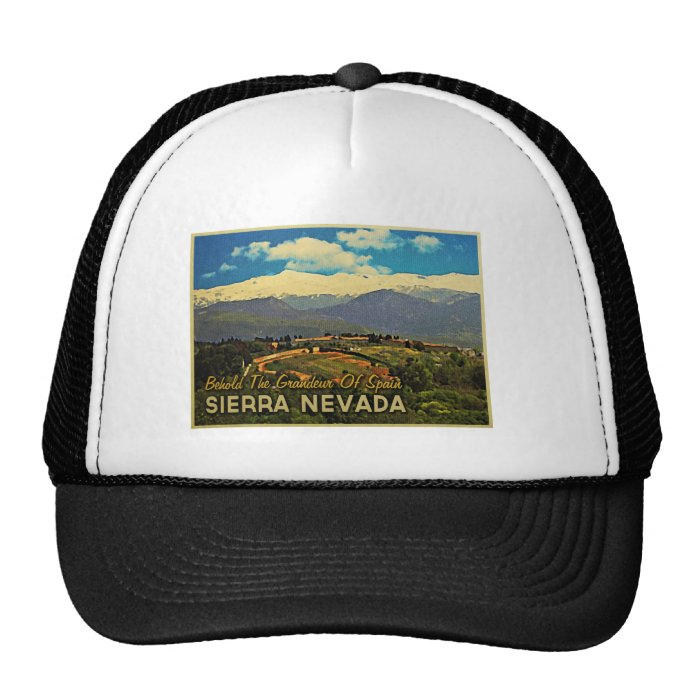 Sierra Nevada Spain Trucker Hat
