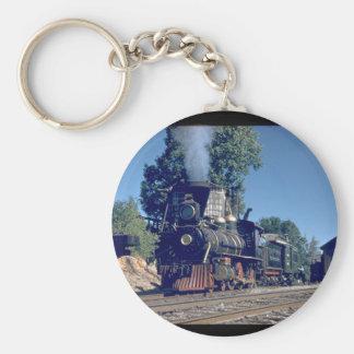 Sierra RR 4-6-0 #3, 1893_Trains Keychain