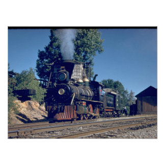 Sierra RR 4-6-0 #3, 1893_Trains Poster