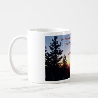 Sierra Sunset, 1 Chronicles 16 Scripture Coffee Mug
