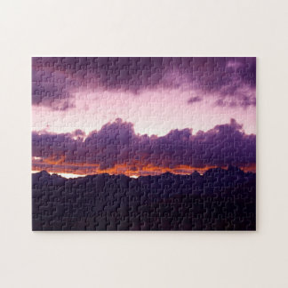 Sierra Sunset Jigsaw Puzzle