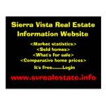 Sierra Vista Real Estate, Information Website, ... Post Cards