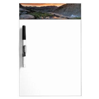Sierra Wave over Yosemite Dry Erase Board