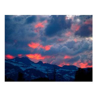 Sierras del este, California, los E.E.U.U. Tarjetas Postales