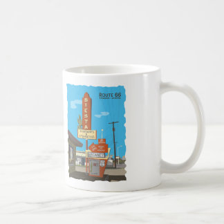 Siesta Apartments on Route 66 Coffee Mug