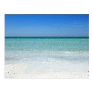 Siesta Beach Gulf Coast Postcard