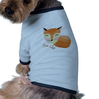 Siesta del Fox Camiseta Con Mangas Para Perro