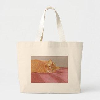 Siesta del gato bolsas de mano