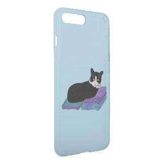 Siesta del gato del smoking fundas para iPhone 7 plus