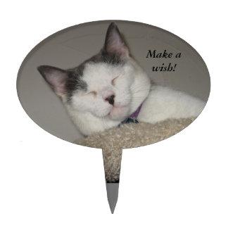 Siesta del gato (plantilla) palillos de tarta