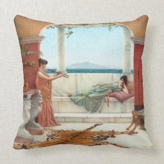 Siesta dulce 1891 del verano cojín