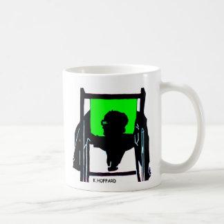 Siesta Green Classic White Coffee Mug
