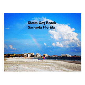 Siesta Key  Beach Postcard