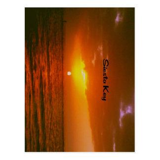 Siesta Key  Beach Postcard
