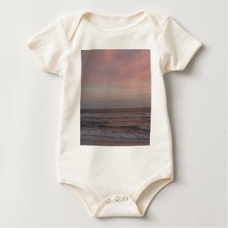 Siesta Key Beach Sunset Baby Bodysuit