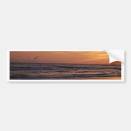 Siesta Key Beach Sunset Bumper Sticker