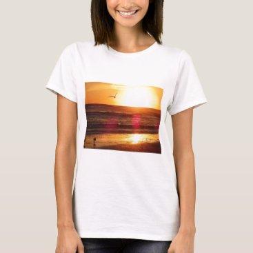 Beach Themed Siesta Key Beach Sunset T-Shirt