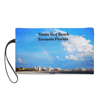 Siesta Key  Beach Wristlet Purse