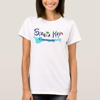 Siesta Key Community basic ladies t T-Shirt