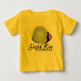 Siesta Key Florida tropical fish baby tee