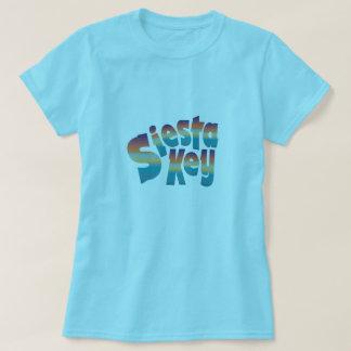 Siesta Key in sunset colors T-Shirt