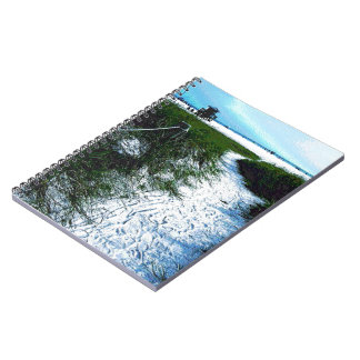 Siesta Keys Beach in Soft Plastic Photography Notebook