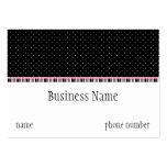 Siesta Motel Chubby Business Card