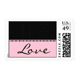 Siesta Motel Love Postage Stamp