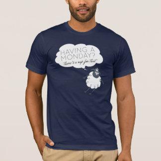 Siesta para eso camiseta de lunes