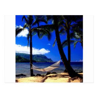 Siesta tropical Kauai Hawaii de la tarde de la isl Postal