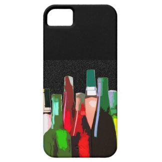 Siete botellas de vino iPhone 5 Case-Mate carcasas