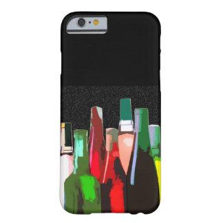Siete botellas de vino funda de iPhone 6 barely there