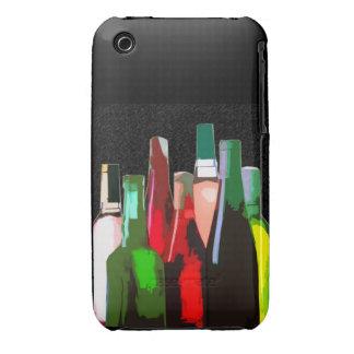 Siete botellas de vino funda bareyly there para iPhone 3 de Case-Mate