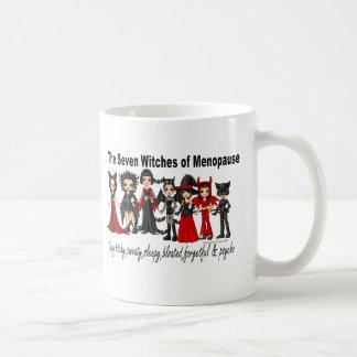Siete brujas de taza de la menopausia