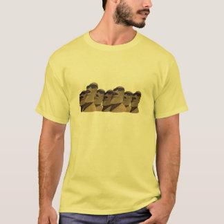 Siete cadera Moai - camiseta básica