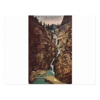 Siete caídas, cañón del sur de Cheyenne Postales
