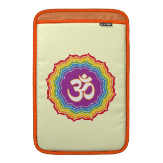 Siete colores de Chakras Fundas MacBook