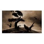 Siete cuervos tarjetas de visita