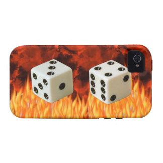 siete dados afortunados vibe iPhone 4 funda