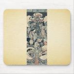 Siete dioses de buena fortuna por Utagawa, Kuniyos Tapete De Ratones