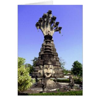 Siete dirigieron el Naga, Tailandia Tarjeta De Felicitación