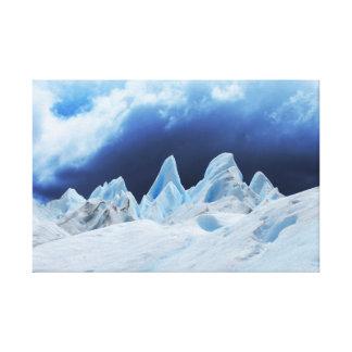 Siete hermanas en hielo impresión en lienzo estirada