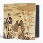 Siete hombres sabios en el bosque de bambú