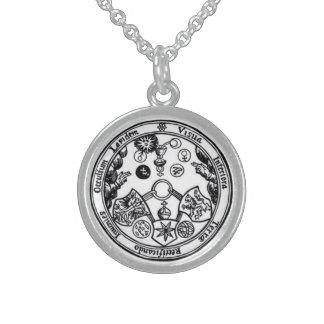 siete metales mágicos collares de plata esterlina