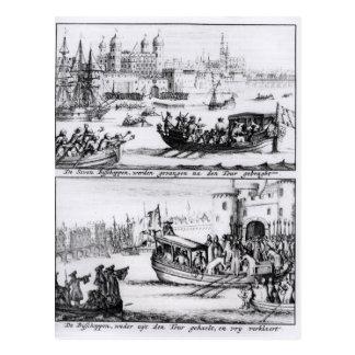 Siete obispos van a la torre, 1688 tarjetas postales