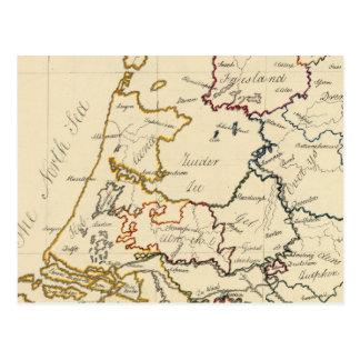 Siete provincias unidas 2 postal