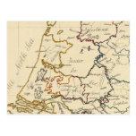 Siete provincias unidas 2 tarjeta postal