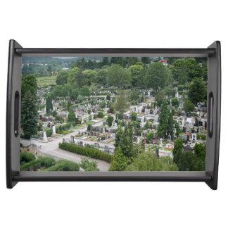 Sieveringer Friedhof Serving Tray