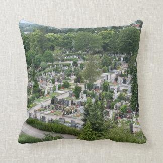 Sieveringer Friedhof Throw Pillow