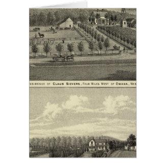 Sievers y Eicke, Nebraska Tarjetón